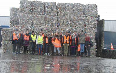 Führung durch die Müllsortieranlage von Alba