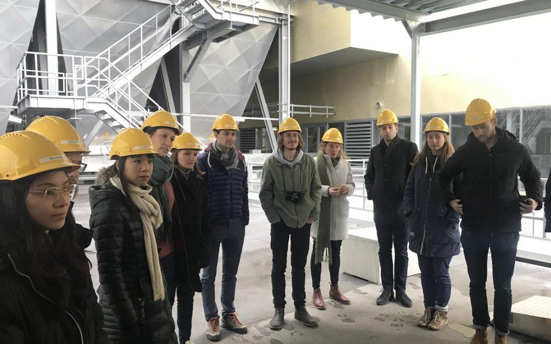 Führung durch das Kehrichtheizkraftwerk in Zürich