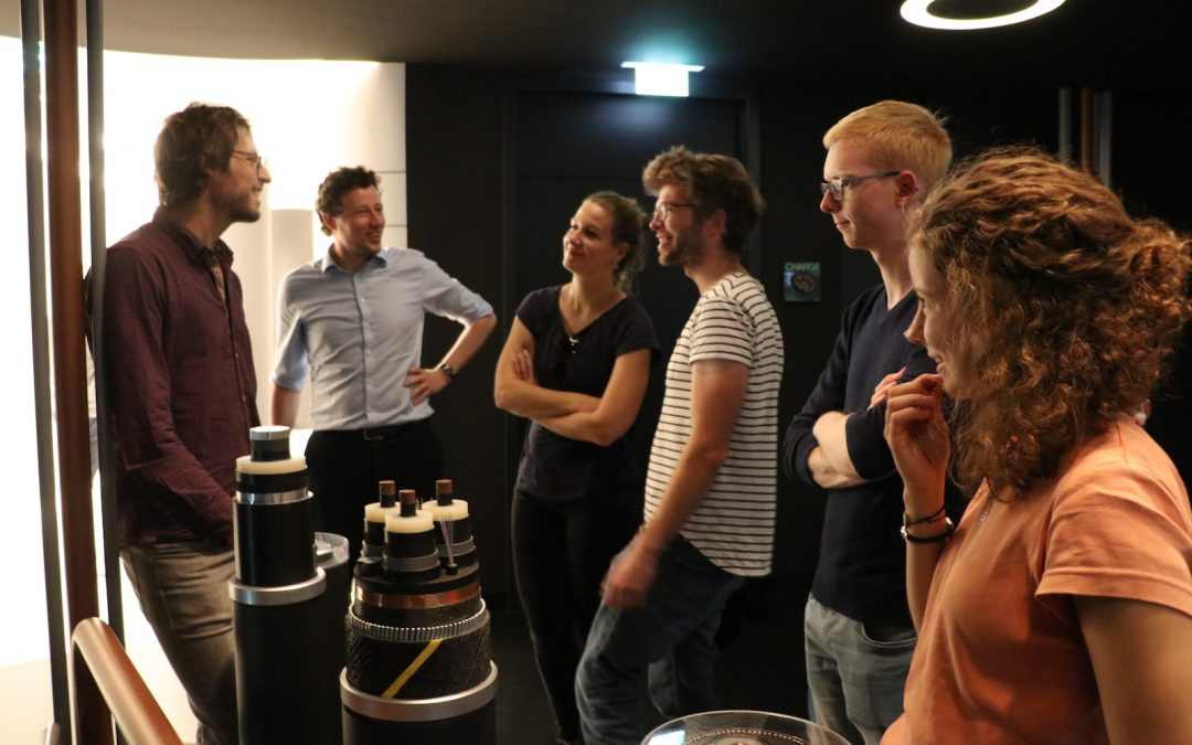 Besuch des Tennet Virtual Vision Showrooms