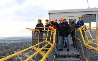 Ausflug zum F60 Braunkohle-Tagebau in der Lausitz