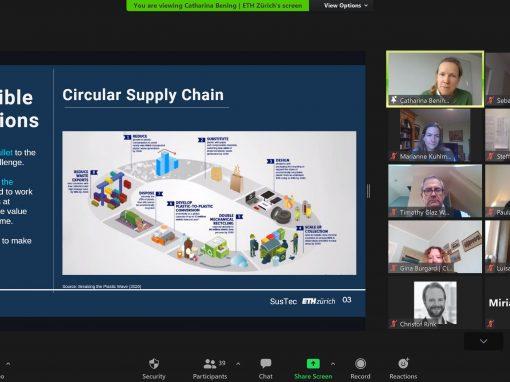 Workshop Reduce/Reuse/Recycle – nachhaltige Verpackungen auf dem Prüfstand
